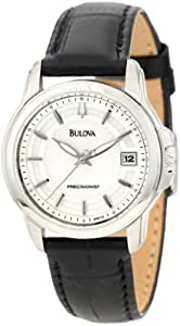 Bulova Women's 96M120 Precisionist Leather Strap Watch