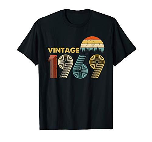 Happy 50th Birthday Vintage 1969 T-Shirt 50th years ()