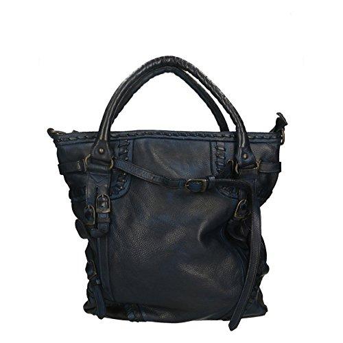 Vera In Pelle Borse Da Cm Borsa Vintage Luxury Leather 100 Chicca Shoulder Donna 33x37x10 Genuine Spalla Edition Bag A 7Rw11q