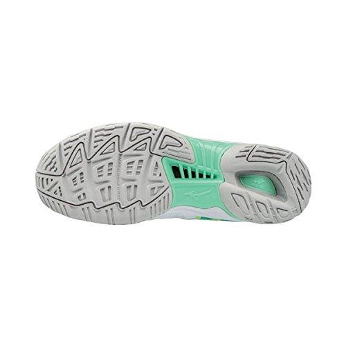Mizuno Wave Phantom NB Women's Netball Shoes - AW17 Blue Jdk98e