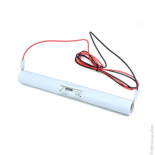 NX - Emergency lighting battery 5xD ST4 + wires 6V 4Ah