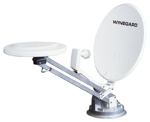 Winegard RM-DM61 Combination Crank-Up / Over-the-Air Antenna w Digital Magic Elevation Sensor by Winegard