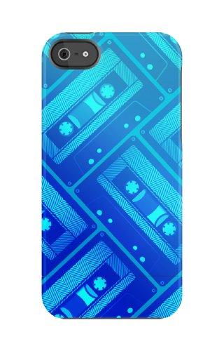 Uncommon - C0020-JH - Apple iPhone 5/5S Capsule Hülle in Blue Cassette