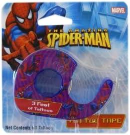 Marvel Comics The Amazing Spiderman Tattoo Tape - Spiderman ...