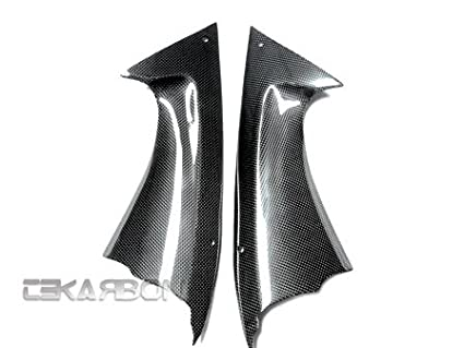 2008 - 2014 Yamaha YZF R6 Carbon Fiber Front Side Panels TEKARBON YM60810-FSPAN