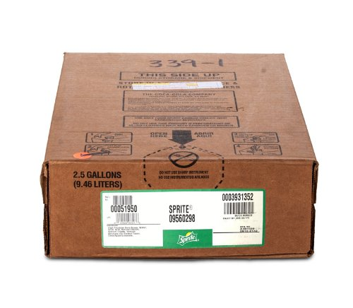 Sprite Bag-in-Box (BIB) Syrup - 2.5 Gallon (Fountain Soda Syrup compare prices)