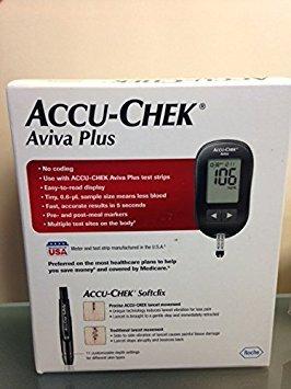 Accu-Chek 365702445109 Aviva Plus Blood Glucose Monitoring Kit (Aviva Monitor)