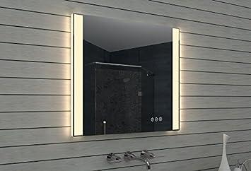 Lux aqua specchio bagno led vetro alluminio vetro