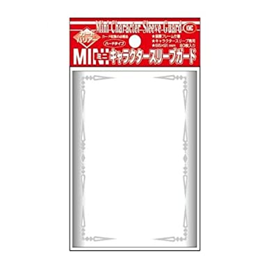 Akashiya Barrier Mini Character Guard Card Sleeves (60 Piece), Clear, 62 x 87mm: Toys & Games