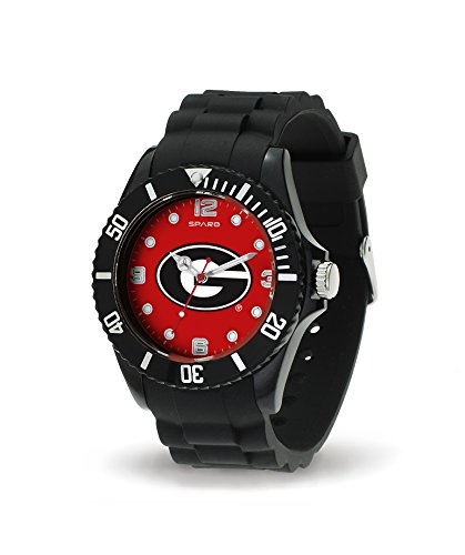 Rico Industries NCAA Georgia Bulldogs Spirit Watch, Black