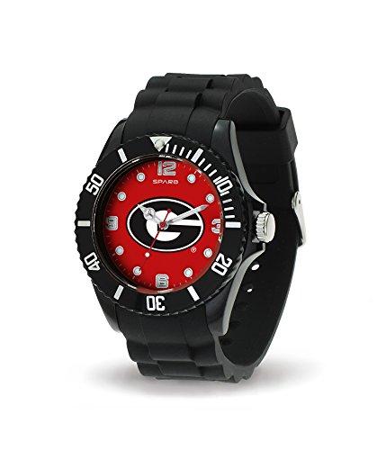 - Rico Industries NCAA Georgia Bulldogs Spirit Watch, Black