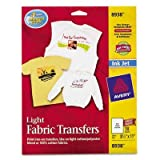 AVE8938 - Avery Light Fabric Transfers for Inkjet Printers