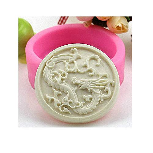 - Chinese Dragon Soap Mold - MoldFun Chinese Zodiac Sign Silicone Mold for Handmade Bath Bomb, Lotion Bar