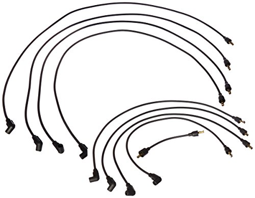 PerTronix 708101 Flame-Thrower Black Custom Fit Spark Plug Wire for 8 Cylinder GM