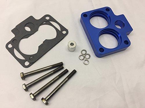 - Blue Throttle Body Spacer Fits 94-03 Dodge Ram 1500 2500 3500 3.9L 5.2L 5.9L