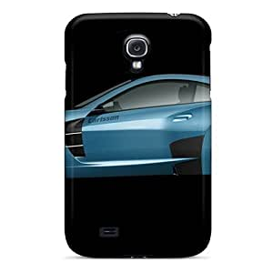 New Arrival Carlsson C25 Blue Car For Galaxy S4 Case Cover