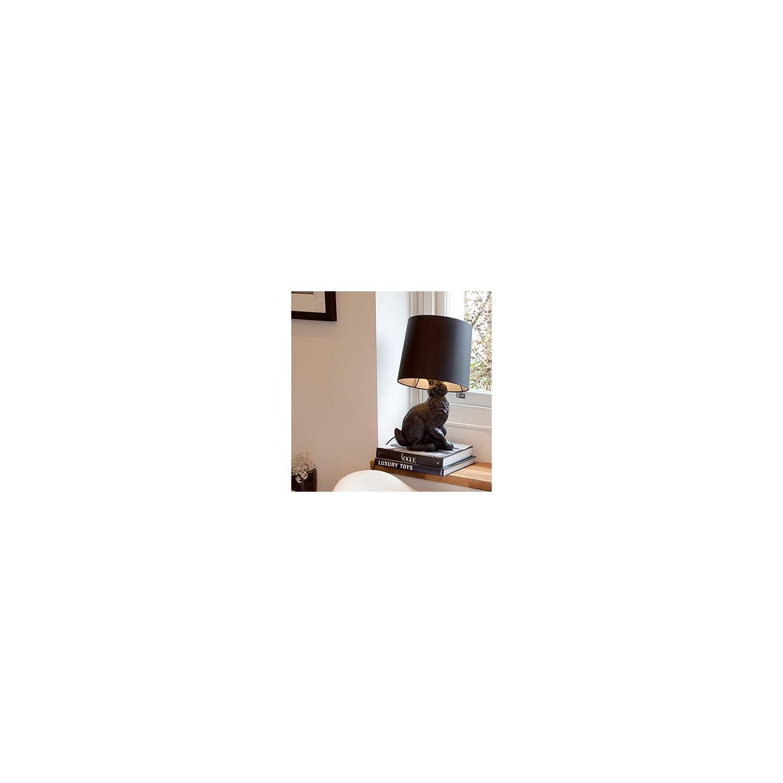 ZQ Modern fashion Cartoon Rabbit Table Lamp Resin Carved Body Fabric Shade , 110-120V