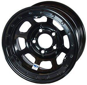 Bassett Wheels 58D53il Black Imca D Hole Beadlock Wheel Size  15  X 8