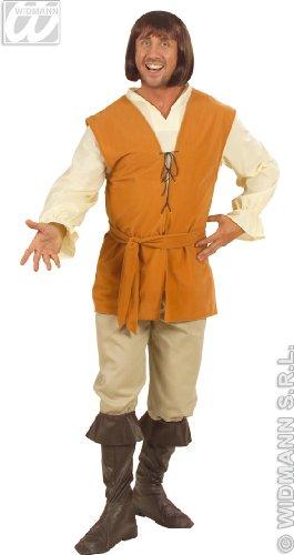 (Mens Peasant Man Costume Extra Large UK 46