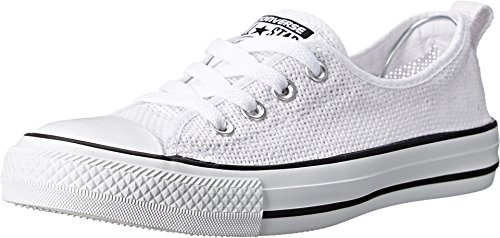 Converse Womens Chuck Taylor All Star Shoreline White Sneaker - - Chuck Slip All Star Ons Taylor