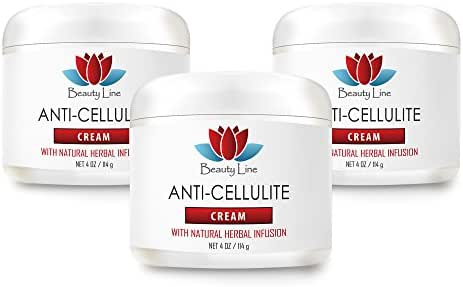 Revitalize anti-aging - ANTI CELLULITE CREAM (with Natural Herbal Infusion) - Cellulite free - 3 Jars