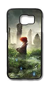 Samsung Galaxy S6 Edge Customized Unique Hard Black Case Brave 3 Case S6 Edge Cover PC Case