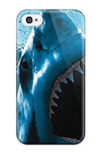 Fashion JnaxVpG2926hZZWJ Case Cover For Iphone 4/4s(baring Teeth)