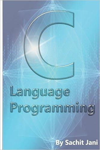 C Language Programming ISBN-13 9781535303569