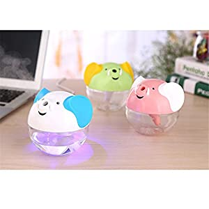 Ultrasonic Air Mist Aromatherapy Atomizer LED Humidifier Aroma Diffuser Purifier