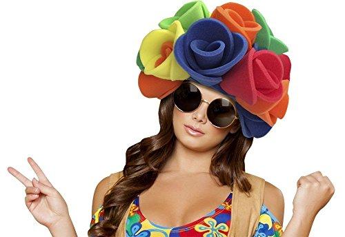 Funky Fresh Flower Wig Foam Party Hat Ladies Bouquet Costume Wear One Size Fits Most by Funky Fresh