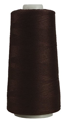 Corespun Polyester Serger Thread by Superior Threads, 3,000 Yard Cone, Sergin General - #113 Dark Brown
