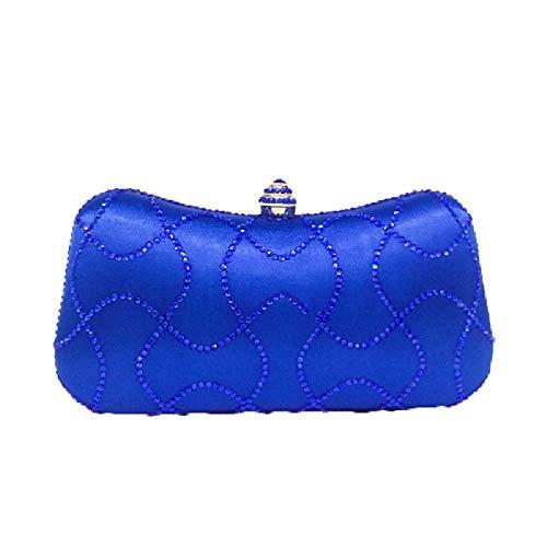 Bleu pour Green Femme 5 Vert Pochette BESTWALED YHB479 ZH0qPw6xC