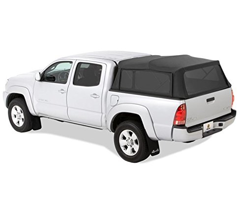 Bestop 76301-35 Black Diamond Supertop for Truck Bed Cover for 2004-2017 Toyota Tacoma, 6.0' Bed (Best Top Truck Camper)