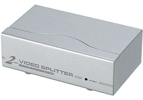 - ATEN 2-Port 350 MHz VGA Video Splitter VS92A (Silver)