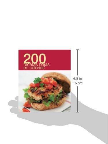 200 recetas bajas en calorías (Spanish Edition): Blume: 9788480769518: Amazon.com: Books