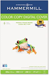 product image for Hammermill - Copier Digital Cover Stock, 60 lbs, 17 x 11, White, 250 Sheets 12255-6 (DMi PK