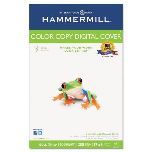 Premium Color Copy Cover, 100 Bright, 60lb, 17 x 11, Photo White, 250 Sheets/PK