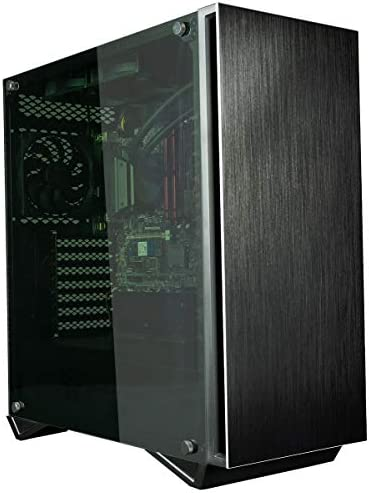 Empowered PC Sentinel Business PC (Liquid Cooled Intel Core i9 K-Series, 32GB RAM, 512GB NVMe SSD + 2TB HDD, 600W PSU, AC WiFi, Windows 10 Pro) Tower Professional Desktop Computer