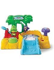 VTech - ZoomiZooz - Tuimel & Draai Eiland - Inclusief Kobe Krokodil - Educatief Babyspeelgoed - Stevig en duurzaam design - Leeftijd: 1 - 5 jaar