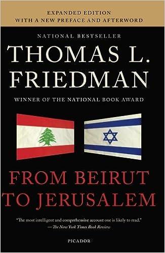From Beirut to Jerusalem: Revised Edition download pdf