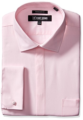 New Stacy Adams Men's 39000 Solid Dress Shirt for sale