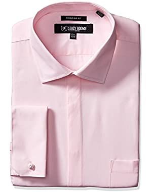 Men's 39000 Solid Dress Shirt