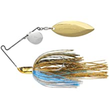 Terminator T1 Spinnerbait-Colorado/Willow, Nickel/Gold Blade (Bluegill, 3/8-Ounce)