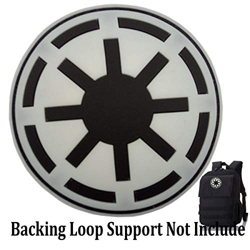 Star Wars Seal (Star Wars Imperial Patch Galactic Empire Imperial Seal Patches PVC Morale Patch (Galactic)