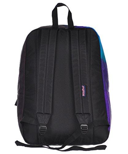 JanSport Unisex High Stakes Northern Lights Backpack TRS739D. Jansport Navy  Front Row Spot b6d744fd5e872