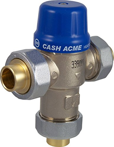 Cash Acme 24502 HG110-D 3/4-Inch Sweat Connections and Integral Checks ()