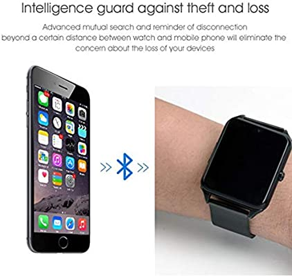 Personalidad de la Moda Bluetooth Smart Watch gsm SIM Phone ...