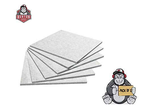BA Series 9 | Best for Sound Proof, Sound Deadening, Acoustic Treatment | Used in Home & Offices | Better Than Acoustic Foam, Foam Panels, Acoustic Panels | 5 PCS PER PACK | 12x12x0.36