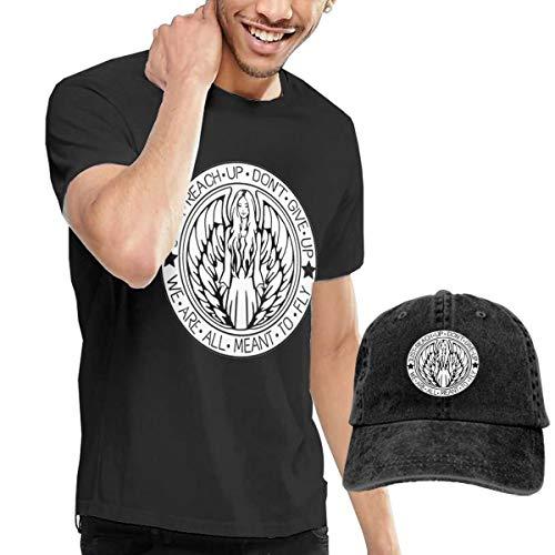 HCULXTIBW Avril Lavigne Singer Men's and Women's Funny T-Shirt and Cowboy Hat 3XL Black