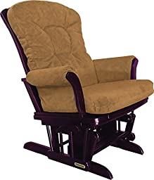 Shermag Recliner Glider Chair, Cherry Honey